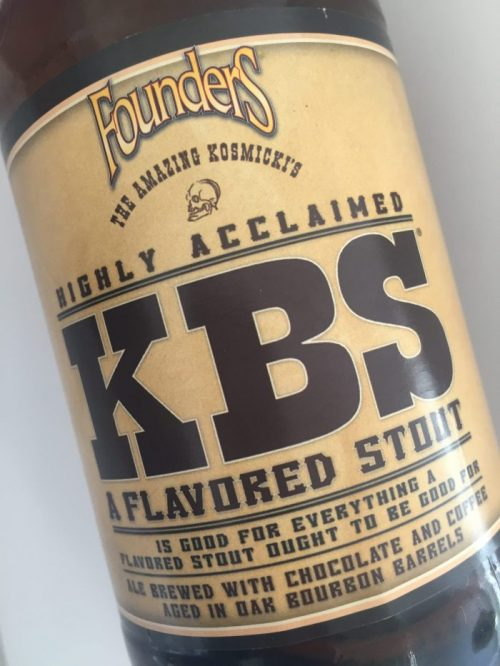 Founders KBS imperial stout