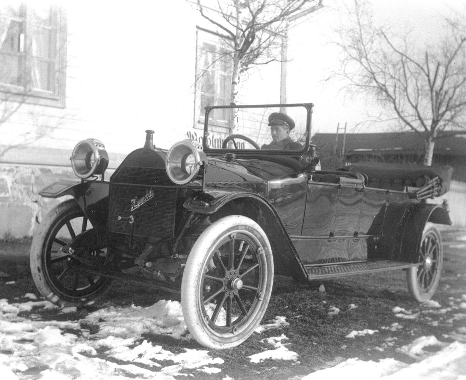 Uudenkaupungin vanhin auto