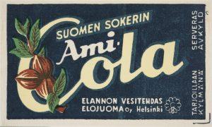 Elojuoma Oy, Ami-Cola -etiketti