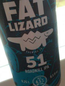 Fat Lizard 51 Roadkill Ipa