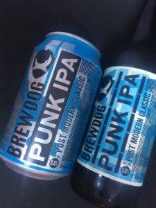 Punk IPA tölkistä ja pullosta