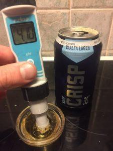 pH-mittaus, Sinebrychoff Crisp