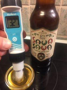 pH-mittaus, Weird Beard Sawa Sawa Coffee Sour