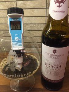 pH-mittaus, Thornbridge Bracia Rich Dark Ale