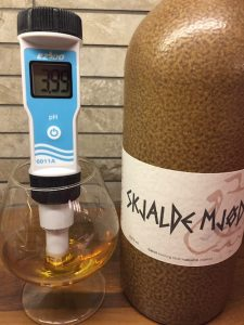 pH-mittaus, Dansk Mjød Skjalde Mjød