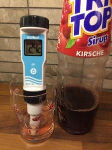 pH-mittaus, Tri Top Kirsche mehutiiviste