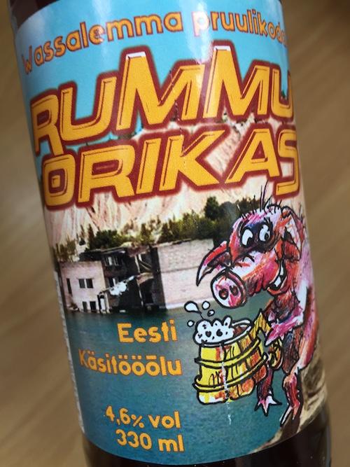Wassalemma Pruulikodan Rummu Orikas