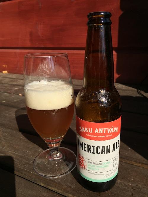 Saku Antvärk American Ale
