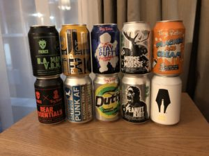 Beer souvenirs from Brewdog trip