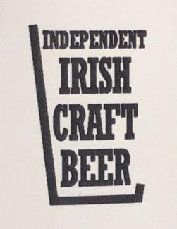 Irish Craft Beer sign