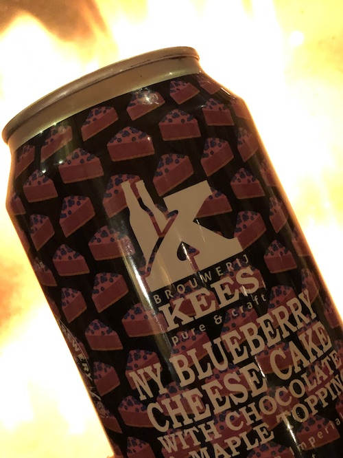 Kees NY Blueberry Cheese Cake