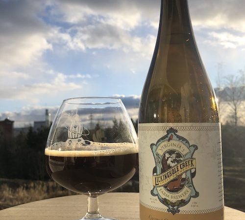 Lickinghole Creek Coconut Quadrupel Ale