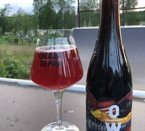 BrewDog Overworks Cosmic Crush Cherry Sour