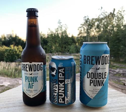 BrewDog Punk AF, Punk IPA ja Double Punk