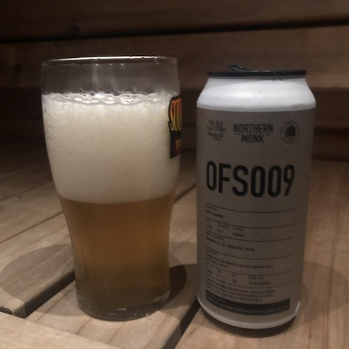 Northern Monk OFS009 Rice Lager
